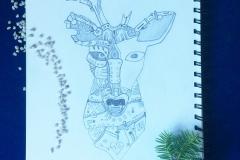 draw-deer-cyborg