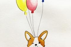 draw-corgi-balloon