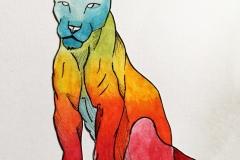 draw-lioness