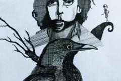 draw-tim-burton-raven